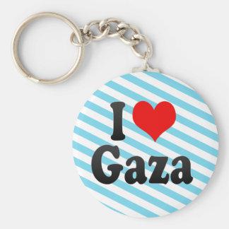 I Love Gaza, Palestinian Territory Key Chain