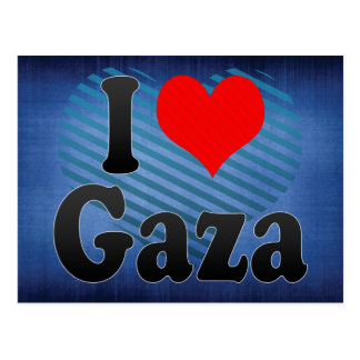 I Love Gaza, Palestinian Territory Postcard