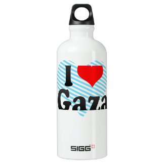 I Love Gaza, Palestinian Territory Water Bottle