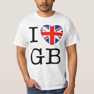 I Love GB T-Shirt