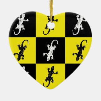 I love Geckos Ornaments