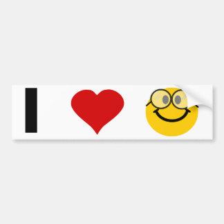 I love Geeks Bumper Sticker