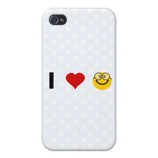 I love Geeks Covers For iPhone 4