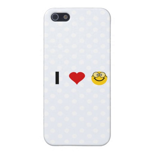 I love Geeks Case For iPhone 5
