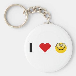 I love Geeks Keychain