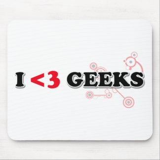 I Love Geeks Mouse Pad
