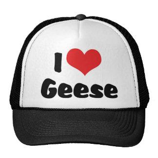 I Love Geese Trucker Hat