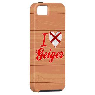 I Love Geiger, Alabama iPhone 5/5S Cases