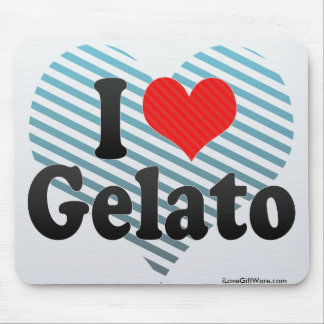 I Love Gelato Mouse Pad