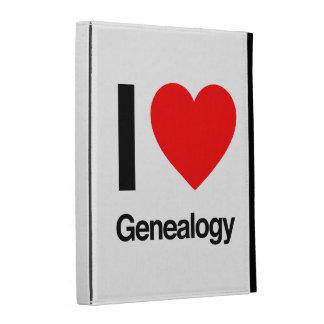 i love genealogy iPad folio cover