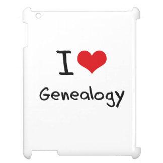 I Love Genealogy iPad Covers