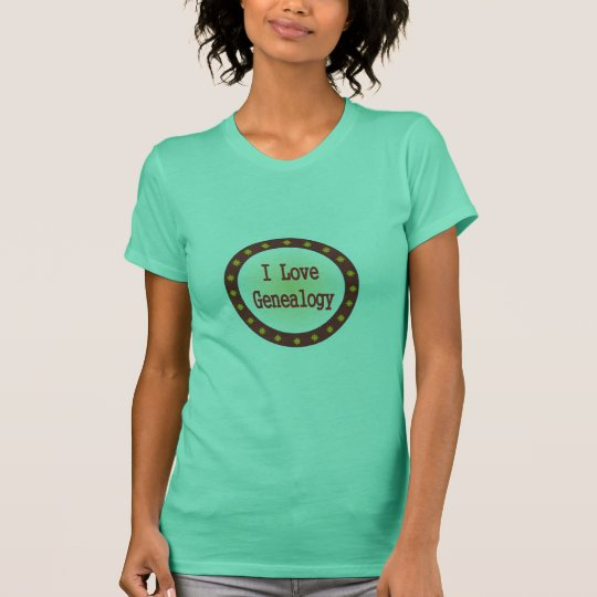 I Love Genealogy T-Shirt