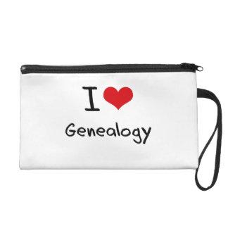 I Love Genealogy Wristlet