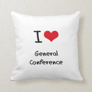 I love General Conference Pillows