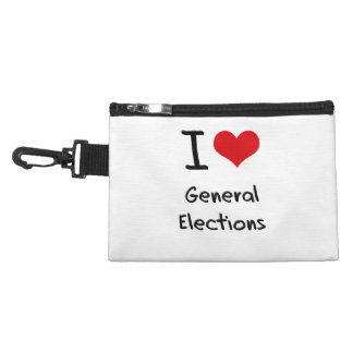 I Love General Elections Accessories Bags