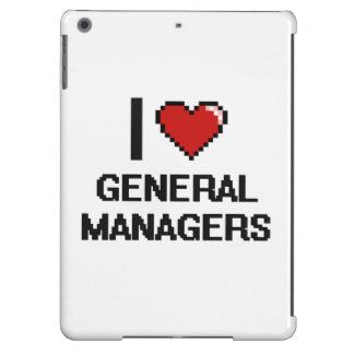 I love General Managers iPad Air Case