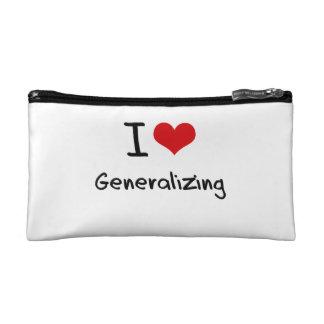 I Love Generalizing Makeup Bag