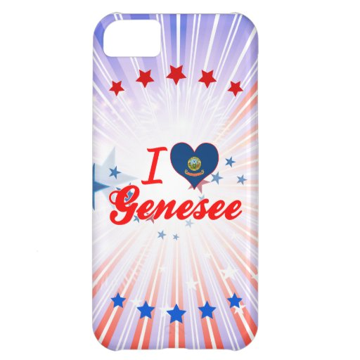 I Love Genesee, Idaho Cover For iPhone 5C