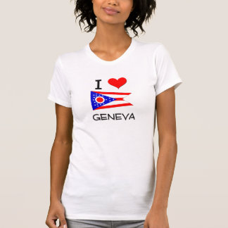 I Love Geneva Ohio Tshirts