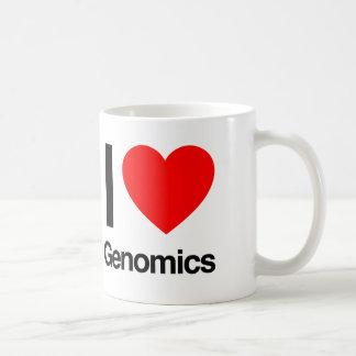 i love genomics coffee mug
