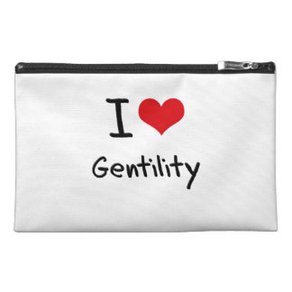 I Love Gentility Travel Accessories Bags