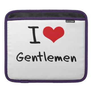 I Love Gentlemen iPad Sleeve