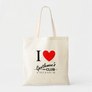 "I love Gentlemen's Club Tote ""Kirchheim"""