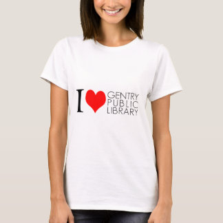 I Love Gentry Public Library T-Shirt