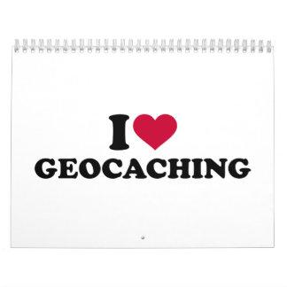 I love Geocaching Calendar