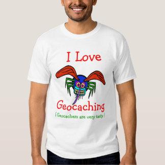 I Love  Geocaching, T-Shirt