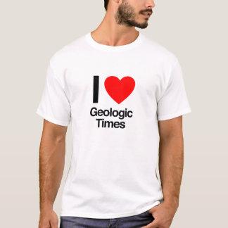 i love geologic times T-Shirt