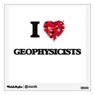 I love Geophysicists Room Decal