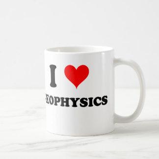 I Love Geophysics Coffee Mug