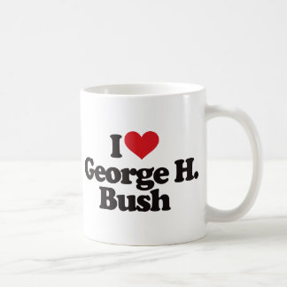 I Love George H Bush Coffee Mug