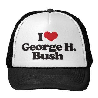 I Love George H Bush Hat