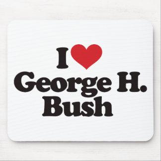 I Love George H Bush Mouse Pad