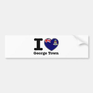 I love George Town Bumper Sticker