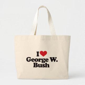I Love George W Bush Tote Bag
