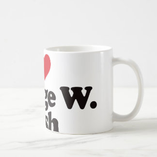 I Love George W Bush Coffee Mug
