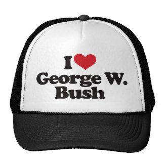I Love George W Bush Hats