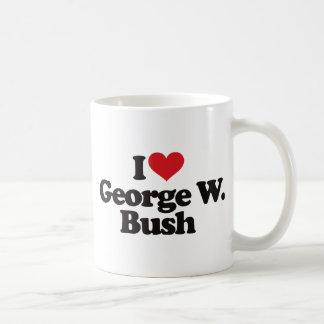 I Love George W Bush Mugs