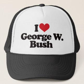 I Love George W Bush Trucker Hat