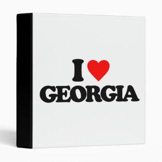 I LOVE GEORGIA BINDER