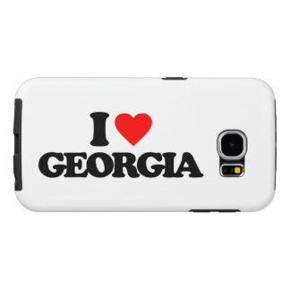 I LOVE GEORGIA SAMSUNG GALAXY S6 CASES