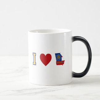 I Love Georgia Magic Mug