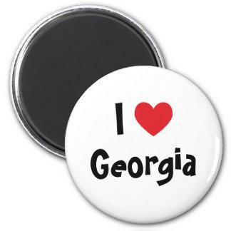 I Love Georgia Magnet