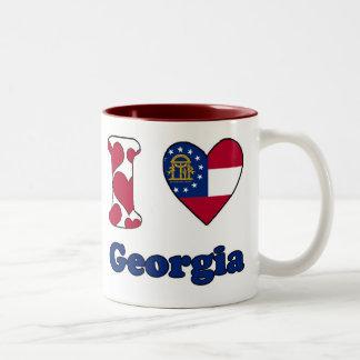 I love Georgia Two-Tone Coffee Mug