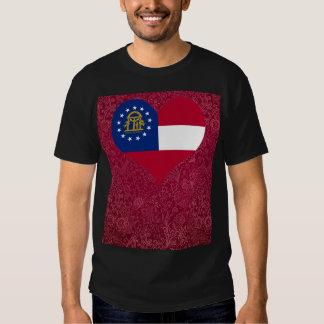 I Love Georgia+USA Tee Shirt