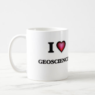 I Love Geosciences Coffee Mug