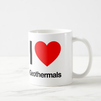 i love geothermals coffee mug